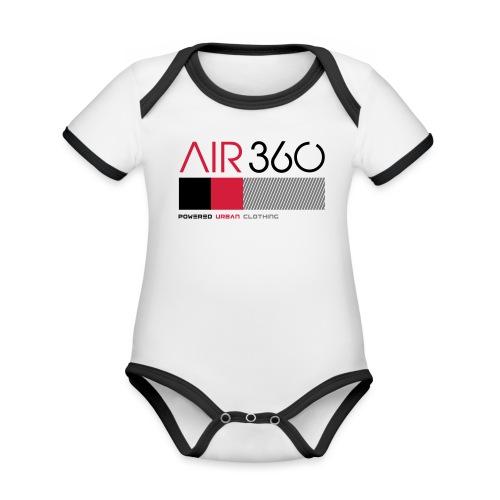 Air360 - Body contraste para bebé de tejido orgánico