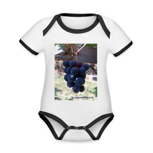 Traube - Baby Bio-Kurzarm-Kontrastbody