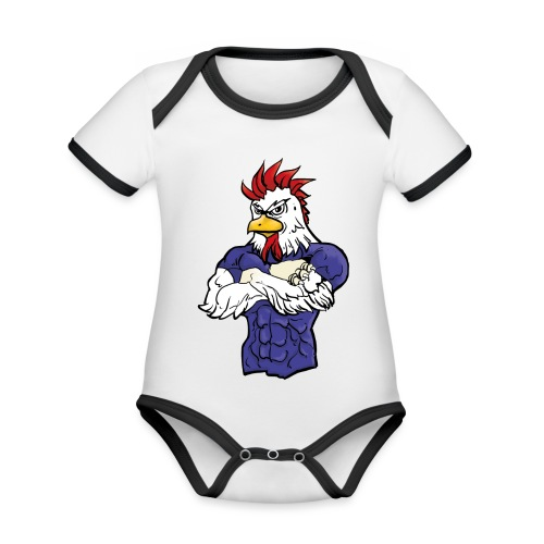 l'equipe - Organic Baby Contrasting Bodysuit