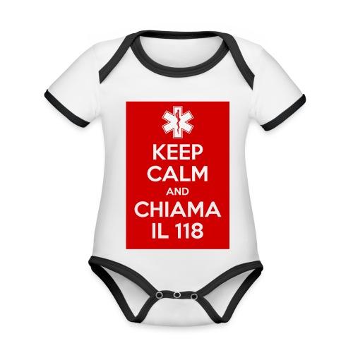 2015 01 04 13 26 31 jpg - Body da neonato a manica corta, ecologico e in contrasto cromatico