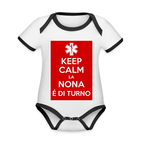 2015 02 12 08 02 26 jpg - Body da neonato a manica corta, ecologico e in contrasto cromatico