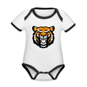 Tiger - Organic Baby Contrasting Bodysuit