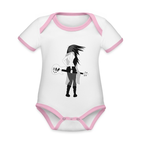 Guitarist - Organic Baby Contrasting Bodysuit