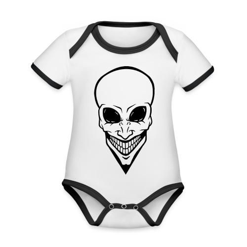 Alien - Baby Bio-Kurzarm-Kontrastbody