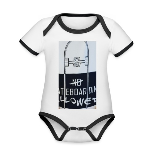 My new merchandise - Organic Baby Contrasting Bodysuit