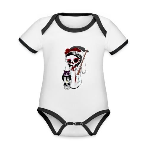 ✦ La pequeña muerte ✦ - Baby Bio-Kurzarm-Kontrastbody