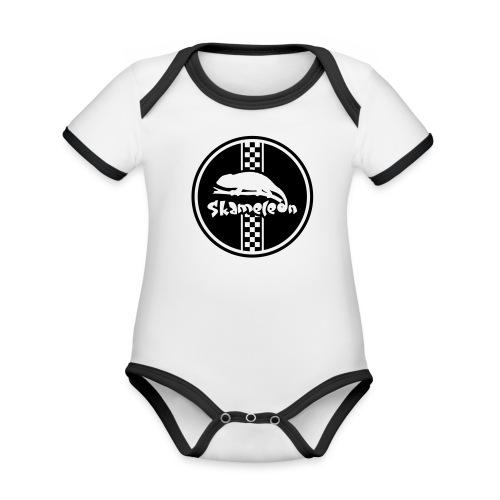 skameleon Logo - Baby Bio-Kurzarm-Kontrastbody