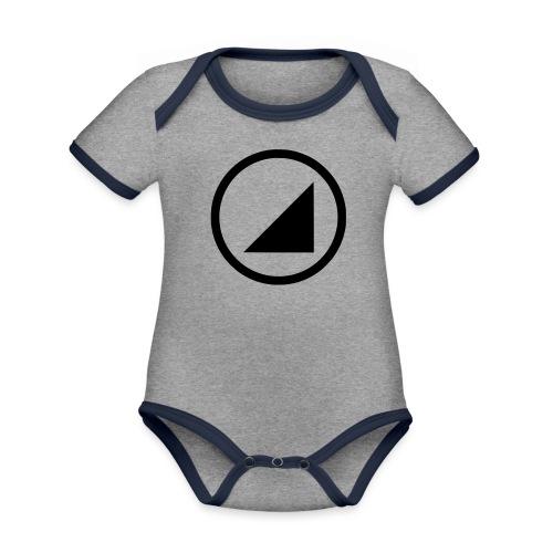 bulgebull marca oscura - Body contraste para bebé de tejido orgánico