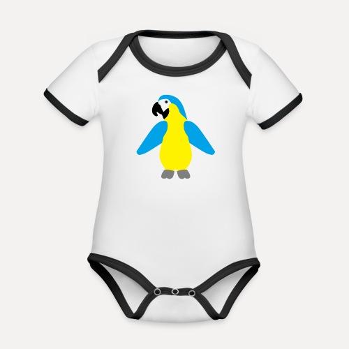Gelbbrustara - Organic Baby Contrasting Bodysuit