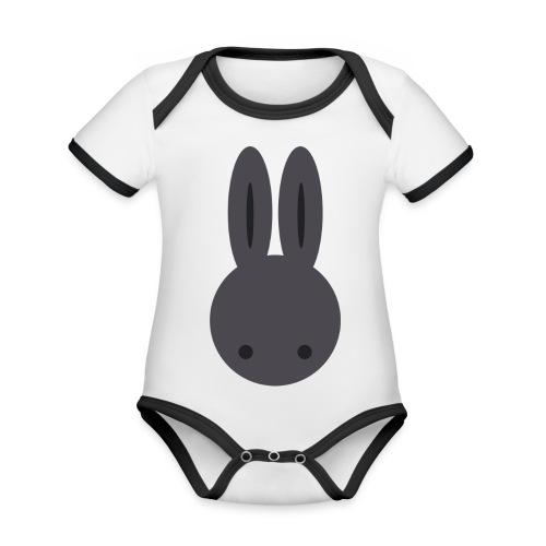 Baby Bunny - Organic Baby Contrasting Bodysuit