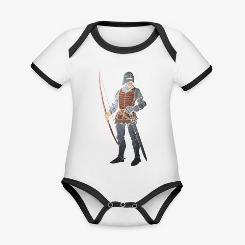 Archers Brace Yourselves patjila - Organic Baby Contrasting Bodysuit