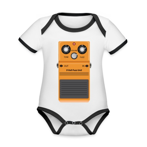 Guitar Effects Pedal 1 - Organic Baby Contrasting Bodysuit