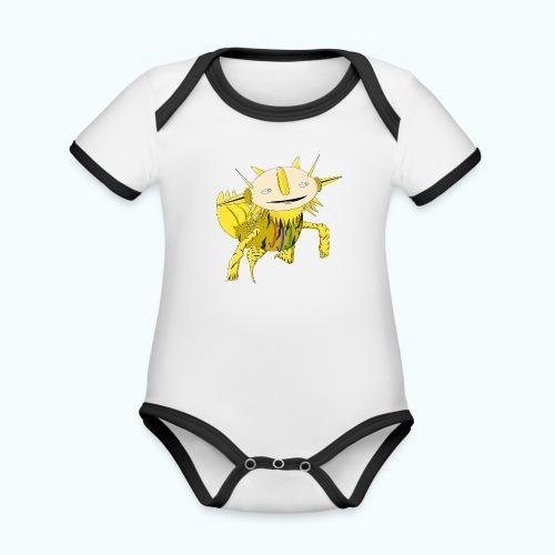 SPIKIE 80s Comic - Organic Baby Contrasting Bodysuit