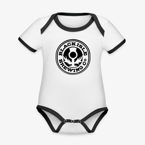 scotlandbrewing1 - Baby Bio-Kurzarm-Kontrastbody