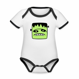 Fonster pur - Baby Bio-Kurzarm-Kontrastbody