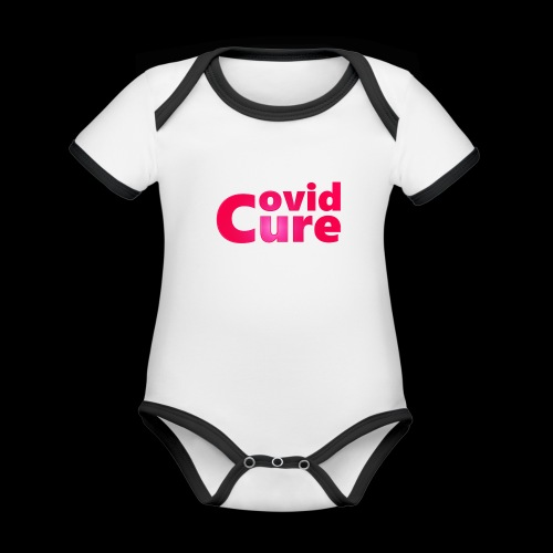 Covid Cure [IMPACT COLLECTION] - Organic Baby Contrasting Bodysuit
