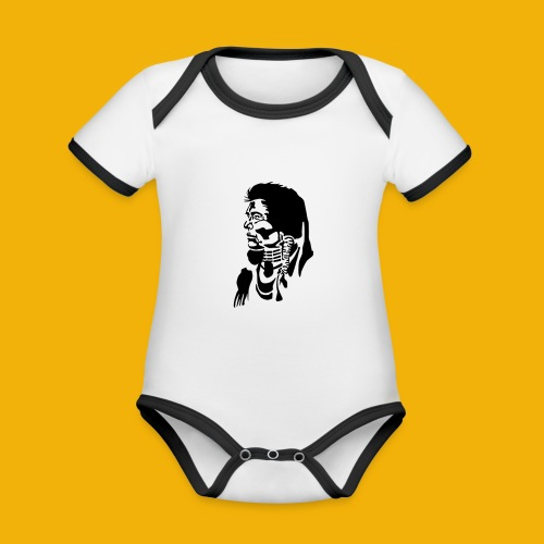 indianersw - Baby Bio-Kurzarm-Kontrastbody