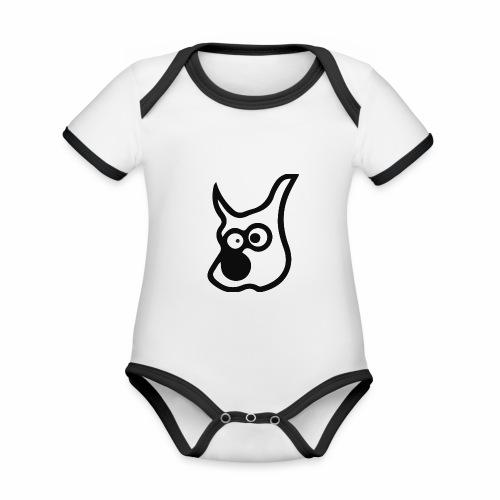e17dog - Organic Baby Contrasting Bodysuit