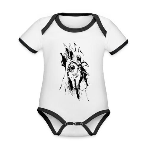 Mohawk - Baby Bio-Kurzarm-Kontrastbody