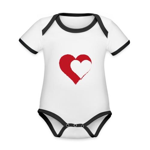 2LOVE - Organic Baby Contrasting Bodysuit