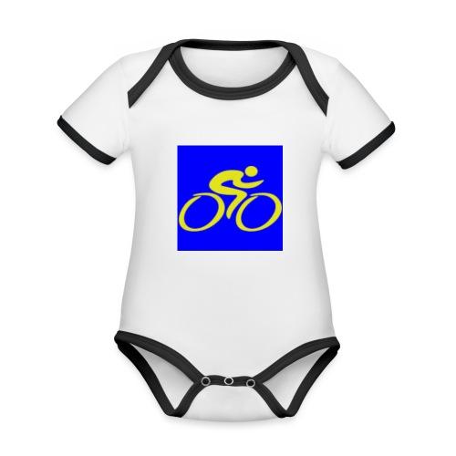 Tour de Epe Logo 2017 2018 2 png - Baby contrasterend bio-rompertje met korte mouwen