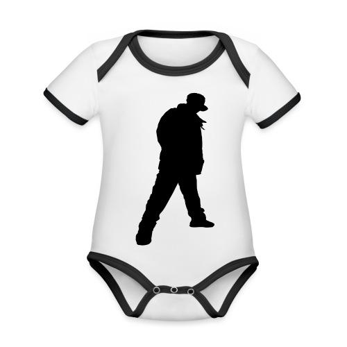 Soops B-Boy Beanie - Organic Baby Contrasting Bodysuit