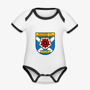 Montrose FC Supporters Club - Organic Baby Contrasting Bodysuit