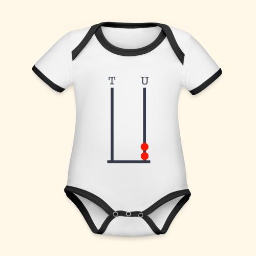 2 year old birthday - Organic Baby Contrasting Bodysuit