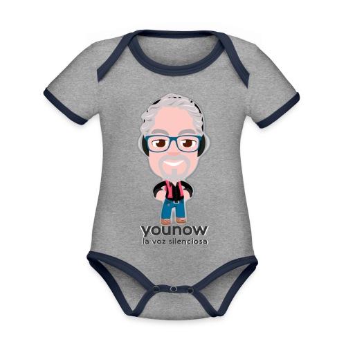 Younow - La voz silenciosa - Body contraste para bebé de tejido orgánico