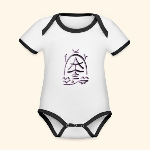 Arfolara solo - Baby Bio-Kurzarm-Kontrastbody
