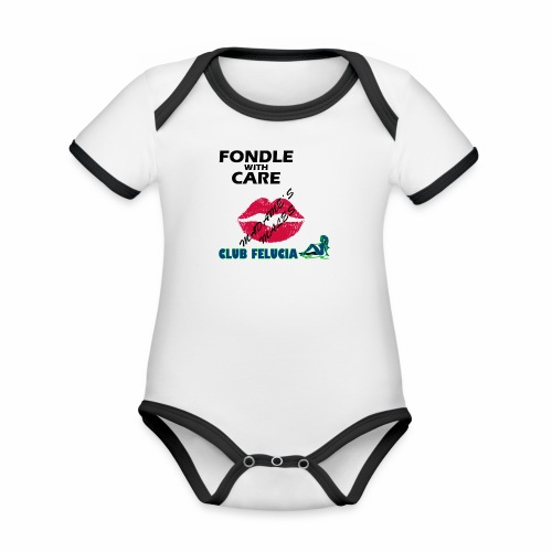 FWC_males - Organic Baby Contrasting Bodysuit