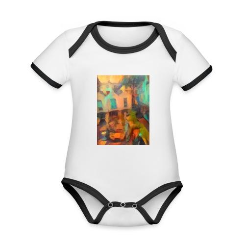 Atrium.Bremen - Baby Bio-Kurzarm-Kontrastbody