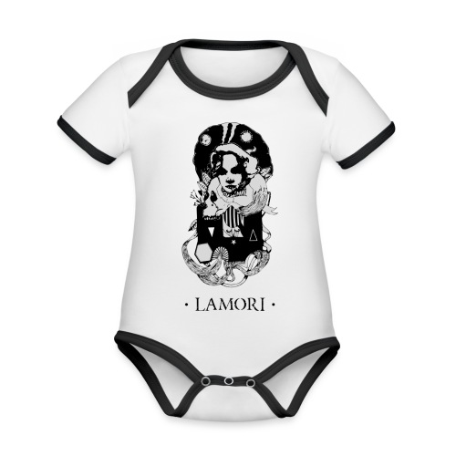 NEO MAGDALENA - Organic Baby Contrasting Bodysuit