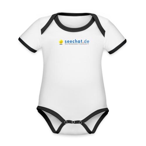 seechatdiebodenseecommunity66 - Baby Bio-Kurzarm-Kontrastbody