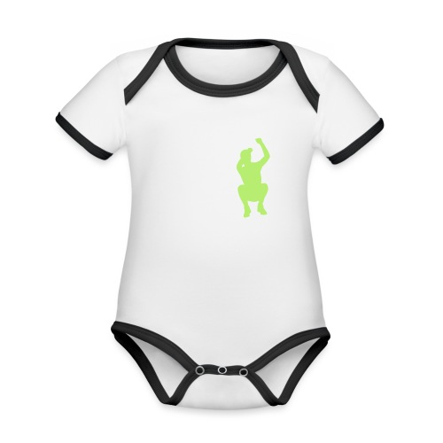 JUMP - Baby Bio-Kurzarm-Kontrastbody