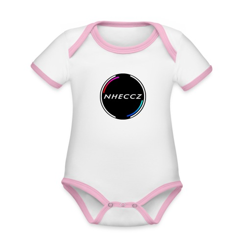 NHECCZ Logo Collection - Organic Baby Contrasting Bodysuit