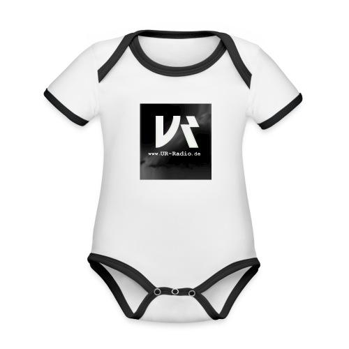 logo spreadshirt - Baby Bio-Kurzarm-Kontrastbody