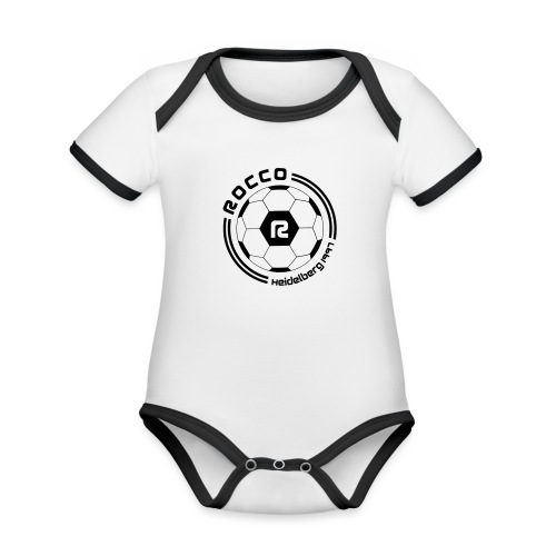 R WAPPEN SW - Baby Bio-Kurzarm-Kontrastbody