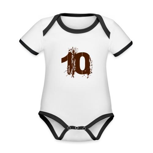 City 10 Berlin - Baby Bio-Kurzarm-Kontrastbody