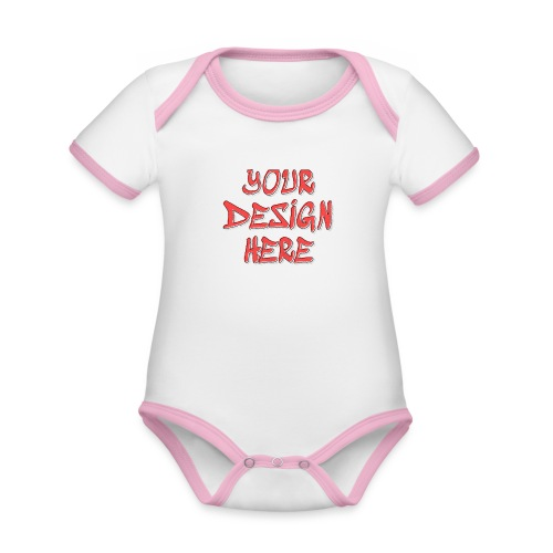TextFX - Organic Baby Contrasting Bodysuit