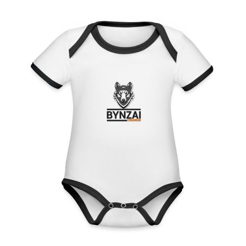 Mug Bynzai - Body Bébé bio contrasté manches courtes