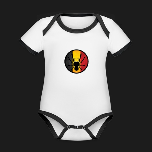 Official - Organic Baby Contrasting Bodysuit