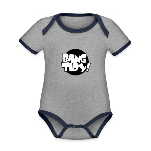 bangtidy - Organic Baby Contrasting Bodysuit