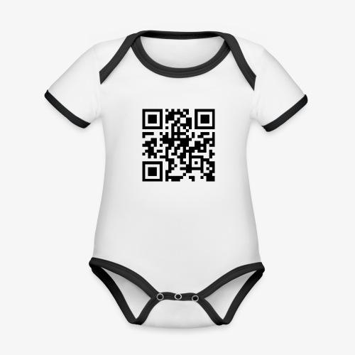 QR Code - Organic Baby Contrasting Bodysuit