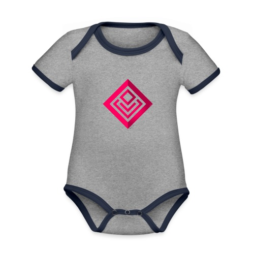 Cabal (with label) - Organic Baby Contrasting Bodysuit
