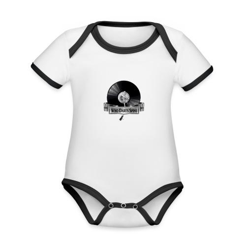 Badge - Organic Baby Contrasting Bodysuit