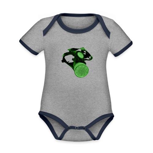 gas shield - Organic Baby Contrasting Bodysuit