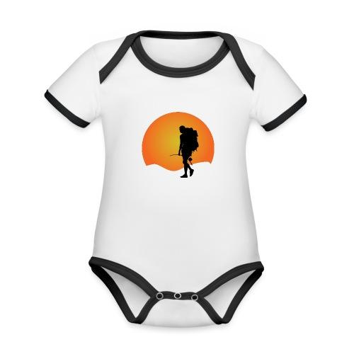 Capoeira me venceu - Organic Baby Contrasting Bodysuit