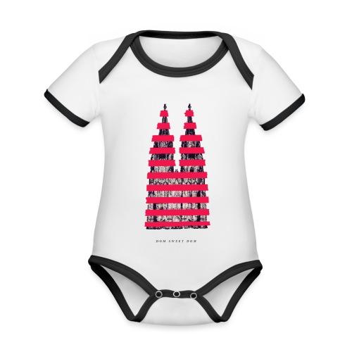 DOM SWEET DOM - Baby Bio-Kurzarm-Kontrastbody