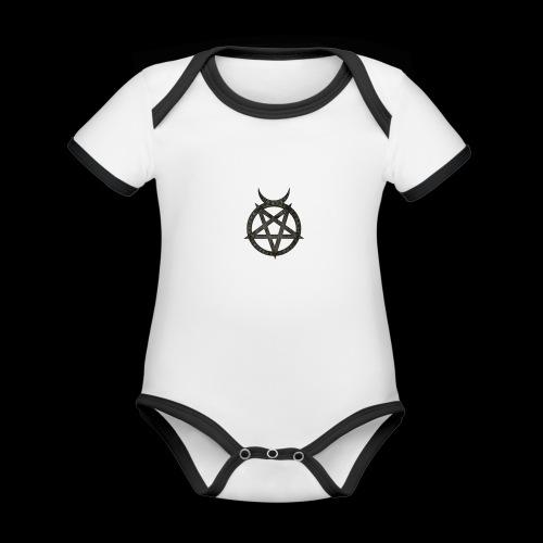 symbole - Body Bébé bio contrasté manches courtes